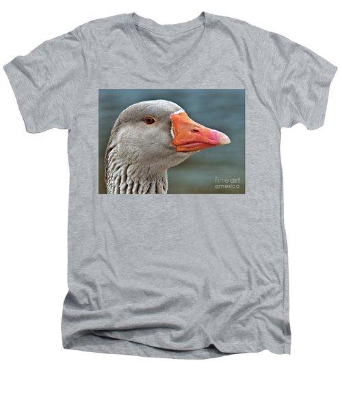 Grey Goose Men's V-Neck T-Shirt