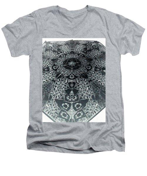 Grillo Inverse Men's V-Neck T-Shirt