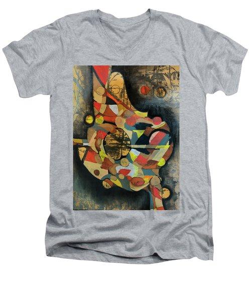 Grounded In Art Men's V-Neck T-Shirt