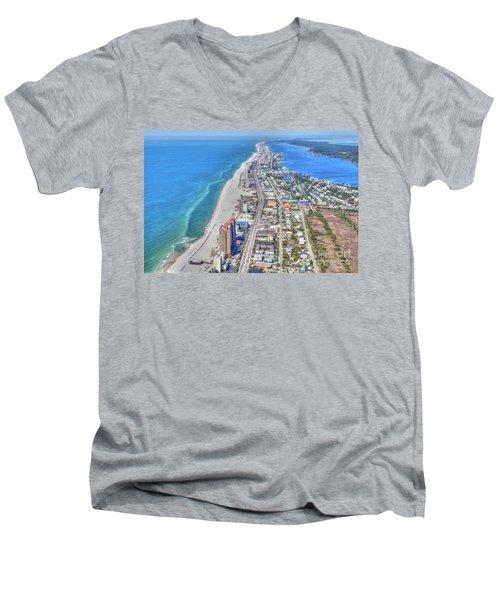 Gulf Shores 7124 Men's V-Neck T-Shirt