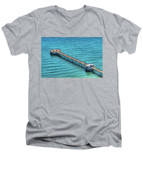 Gulf State Park Pier Men's V-Neck T-Shirt