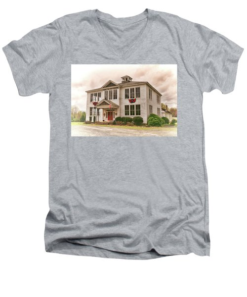 Hamilton High School In Cumberland County Virginia Men's V-Neck T-Shirt