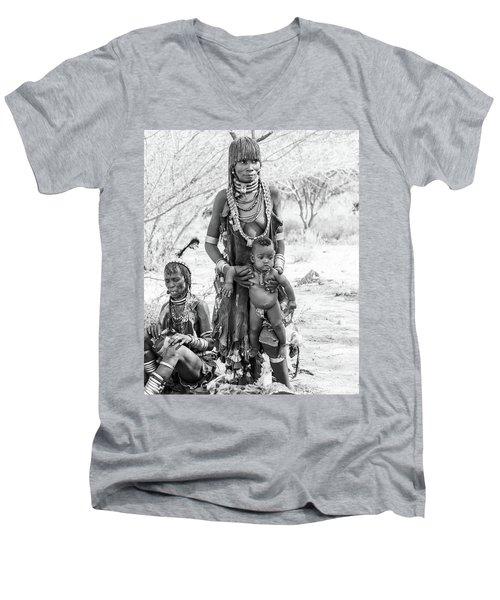 Hammer Women And Child Men's V-Neck T-Shirt