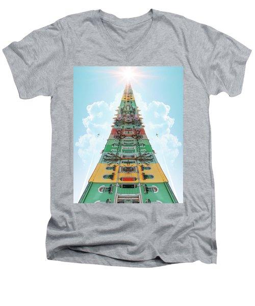 Happy House Dreams Men's V-Neck T-Shirt