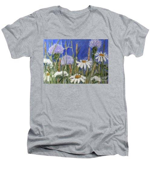 Happy Skies Men's V-Neck T-Shirt