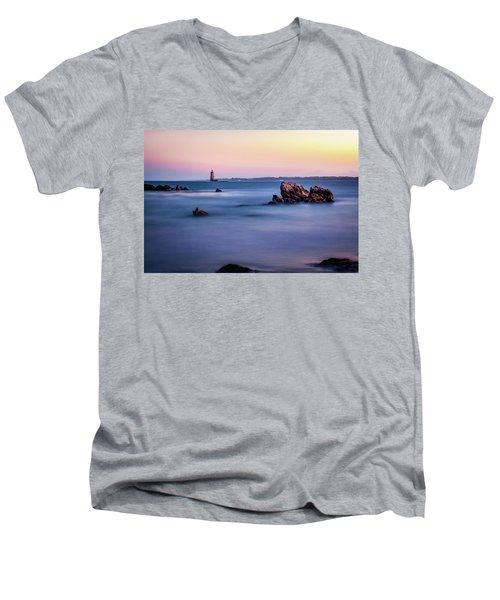 Harbor Light Men's V-Neck T-Shirt