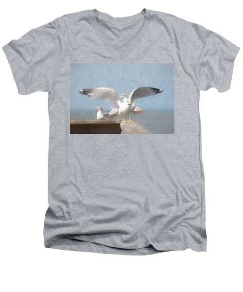 Harbour Watch Men's V-Neck T-Shirt