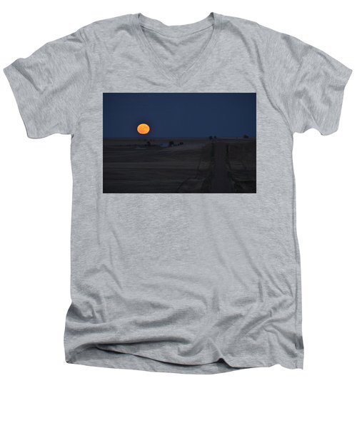 Harvest Moon 2 Men's V-Neck T-Shirt