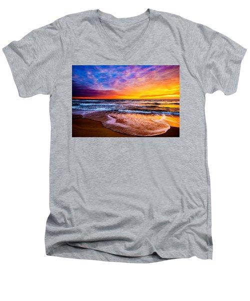 Hatteras Dawn  Men's V-Neck T-Shirt