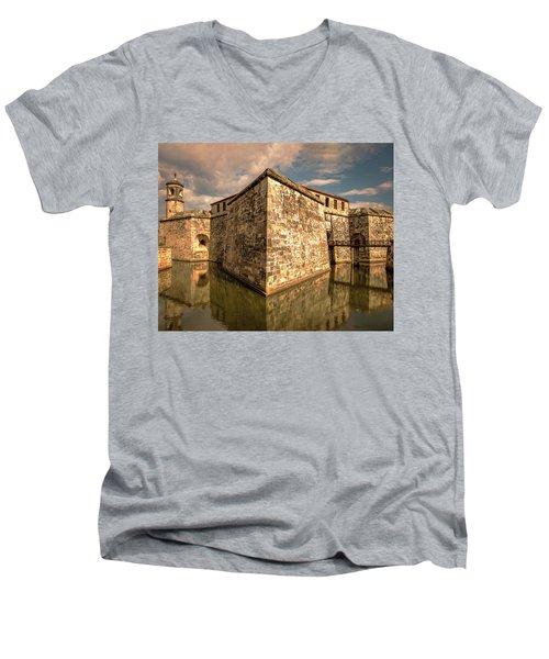 Havana Fortress Men's V-Neck T-Shirt