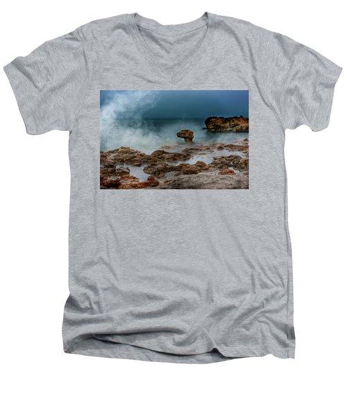 Head Of The Dragon Men's V-Neck T-Shirt