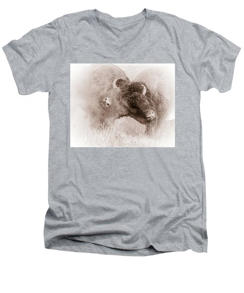 Head To Head Men's V-Neck T-Shirt