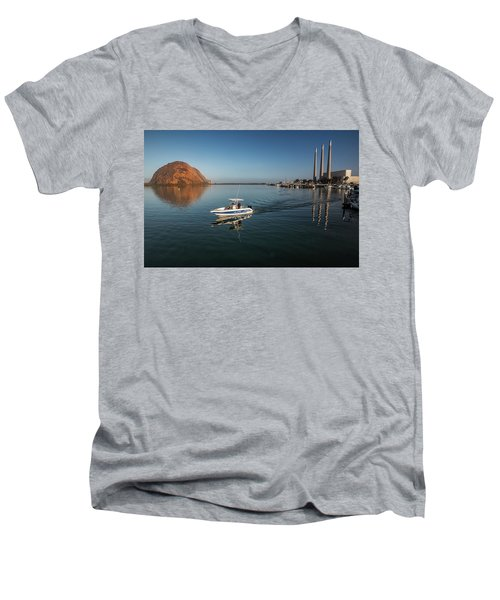 Heading Out Early Men's V-Neck T-Shirt