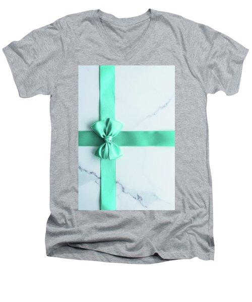 Hello Holiday I Men's V-Neck T-Shirt