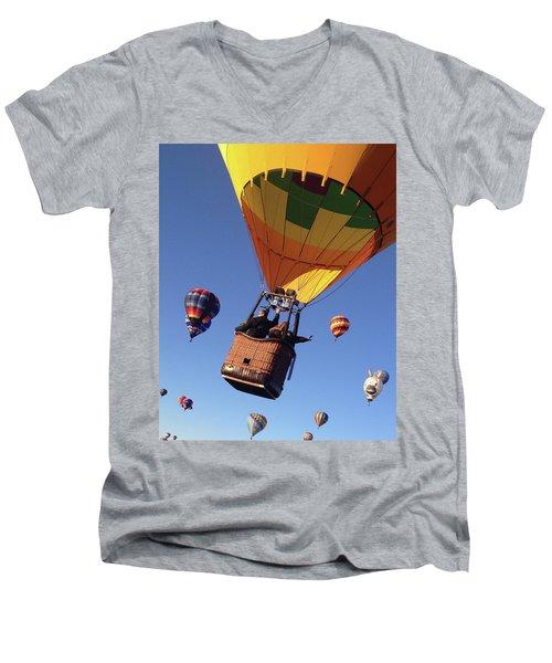 Hi From Up High Men's V-Neck T-Shirt