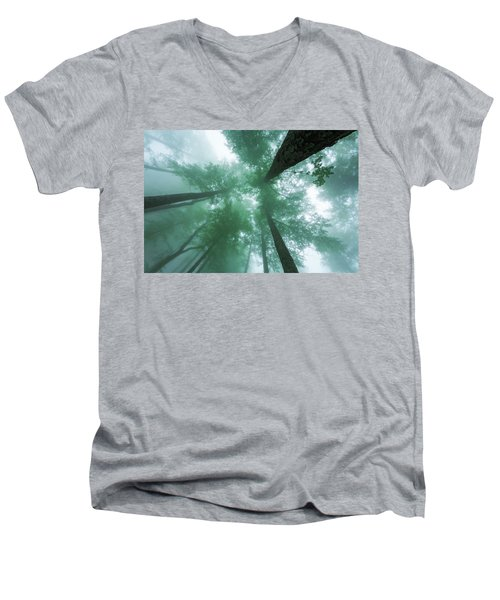 High In The Mist Men's V-Neck T-Shirt