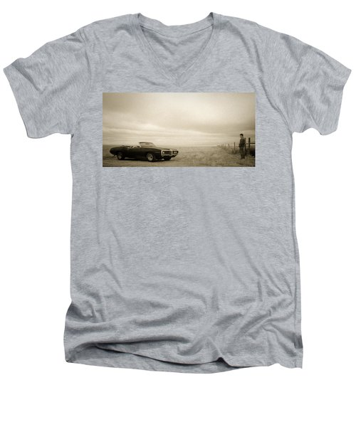 High Plains Drifter Men's V-Neck T-Shirt