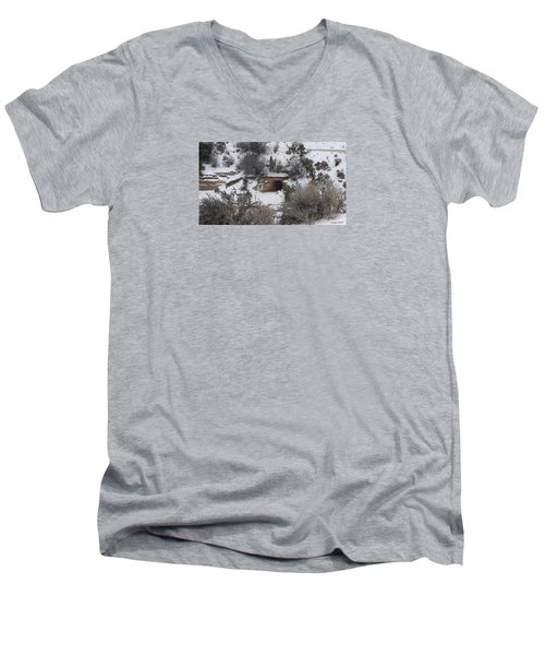 Hole In The Wall Men's V-Neck T-Shirt