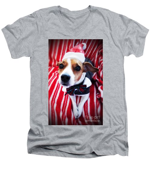 Holiday Jack Men's V-Neck T-Shirt