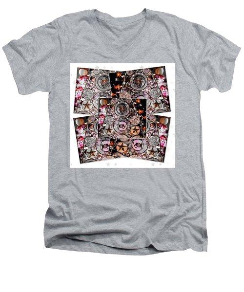 Holiday Joy Men's V-Neck T-Shirt