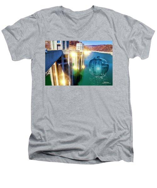 Hoover Intake Facility Men's V-Neck T-Shirt