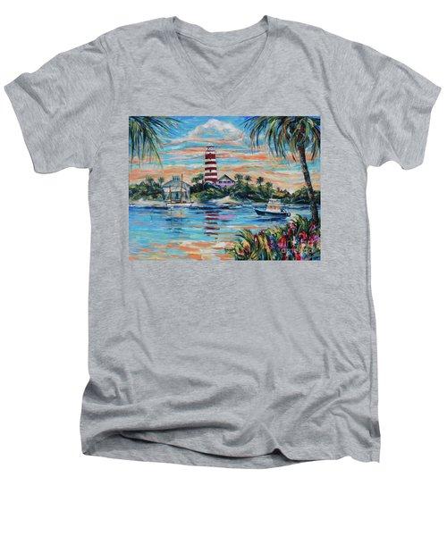 Hopetown Paradise Men's V-Neck T-Shirt