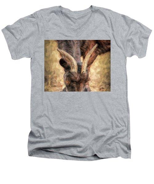 Horns Authority Men's V-Neck T-Shirt