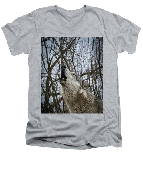 Howlin Men's V-Neck T-Shirt