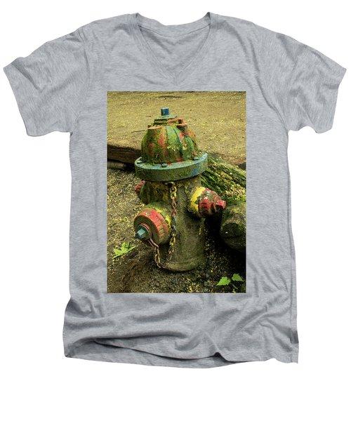 Hydrant Men's V-Neck T-Shirt