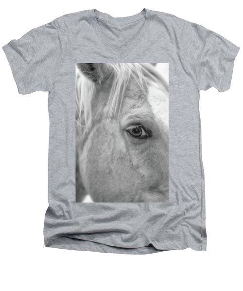 I C U Men's V-Neck T-Shirt