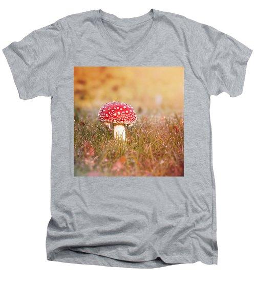 I Know The Place Men's V-Neck T-Shirt