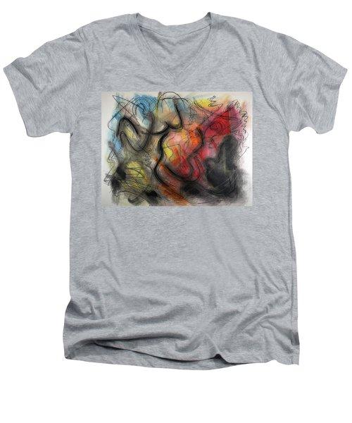 Ignis Sacrificium Men's V-Neck T-Shirt