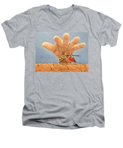 Ignorance Is Bliss Men's V-Neck T-Shirt