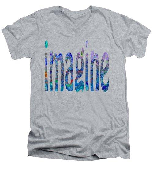 Imagine 1007 Men's V-Neck T-Shirt
