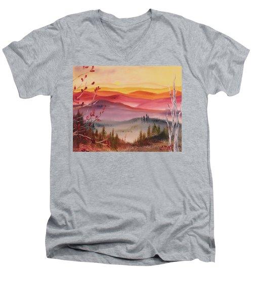 Impermanence Men's V-Neck T-Shirt