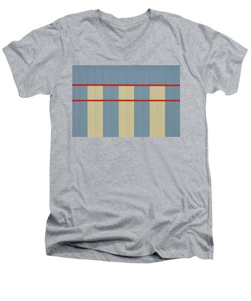 Industrial Minimalism 8 Men's V-Neck T-Shirt