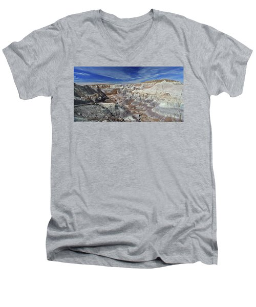 Into The Past Men's V-Neck T-Shirt