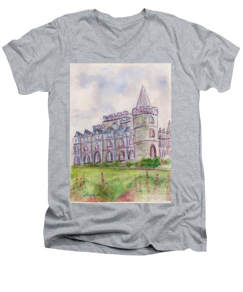 Inverary Castle Men's V-Neck T-Shirt