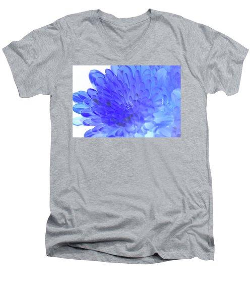 Inverted Flower Men's V-Neck T-Shirt