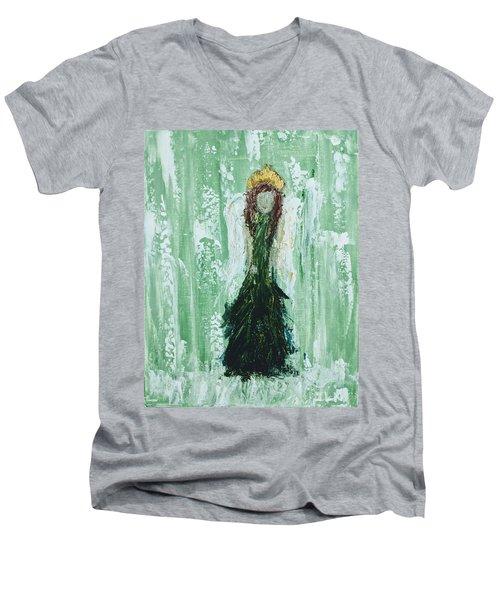 Irish Angel  Men's V-Neck T-Shirt