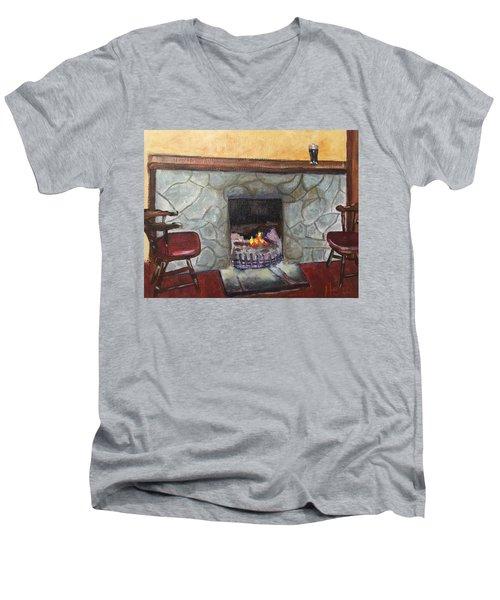 Irish Pub Men's V-Neck T-Shirt