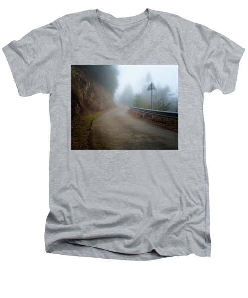 Is Anyone Coming? Men's V-Neck T-Shirt