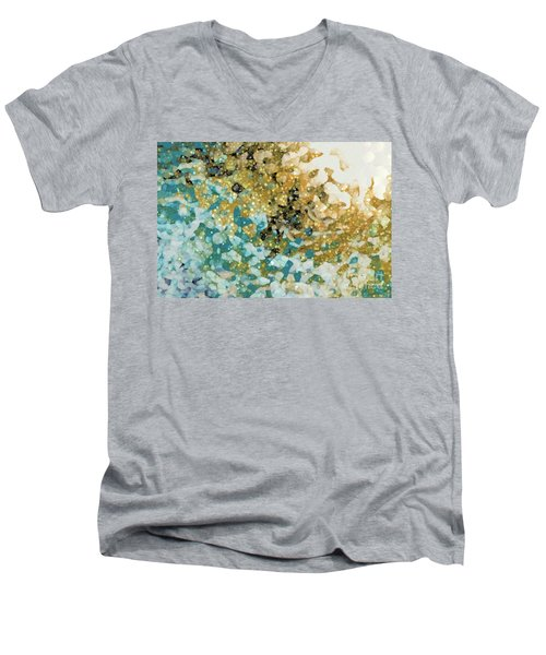 Isaiah 26 3. In Perfect Peace Men's V-Neck T-Shirt
