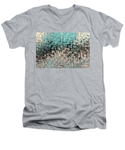 Isaiah 48 17. Walking In The Spirit Men's V-Neck T-Shirt