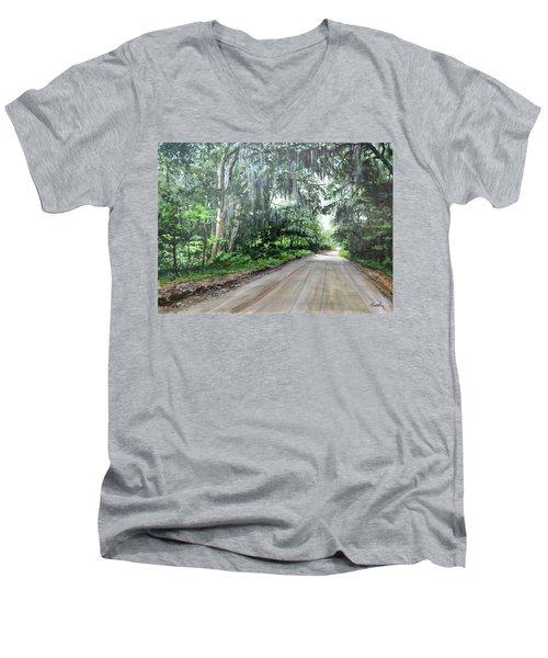 Island Road Men's V-Neck T-Shirt