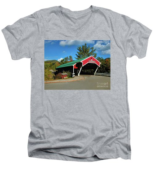 Jackson Covered Bridge Men's V-Neck T-Shirt