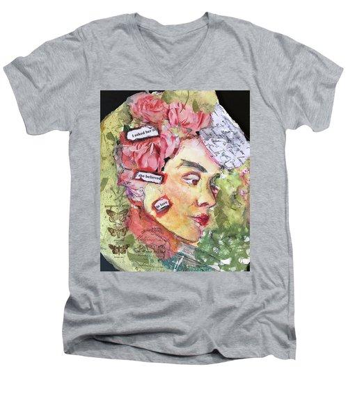 Jane Men's V-Neck T-Shirt