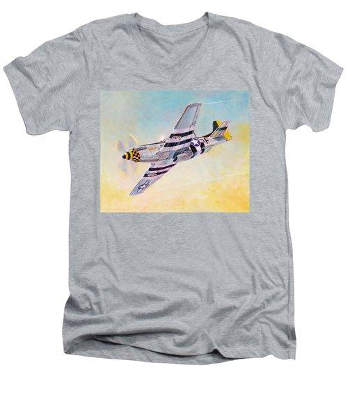 Janie Men's V-Neck T-Shirt