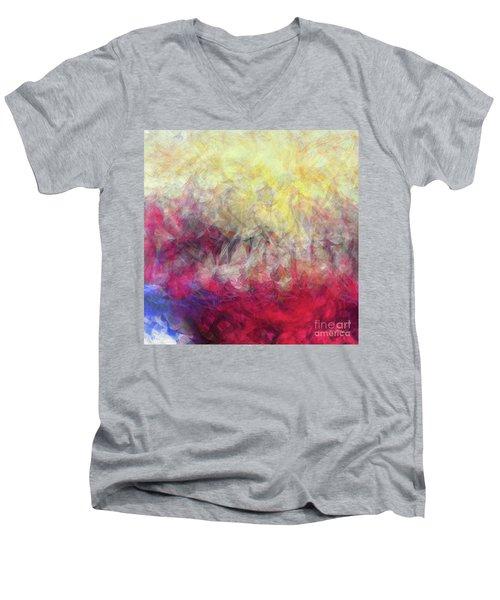 Jesus Christ, Rose Of Sharon. Song Of Solomon 2 1 Men's V-Neck T-Shirt
