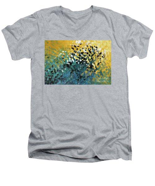 John 8 12. The Light Of Life Men's V-Neck T-Shirt